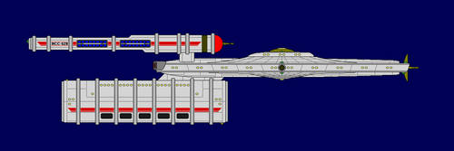 Jamestown-class Colony Support Ship by JasonWolfe