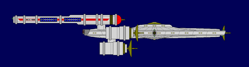 Kit Carson-class Scout Ship by JasonWolfe