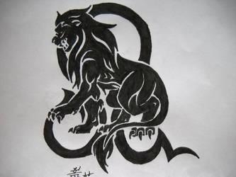 420626625 DoomOfAstarael 43 22 Leo Tribal Tattoo by DragonGirl-Lucky-13