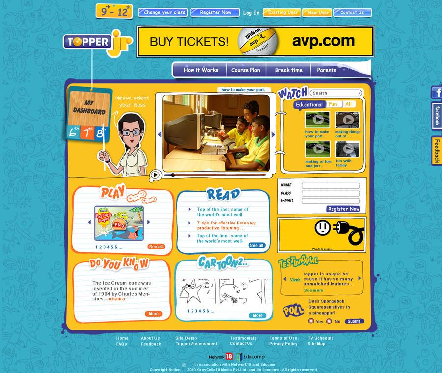 Junior Website by yogesh-sharma
