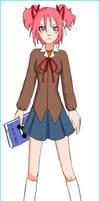 Natsuki ddlc! 2.0 by TheMangle202