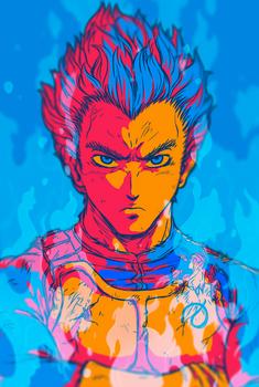 Prince Vegeta Portrait