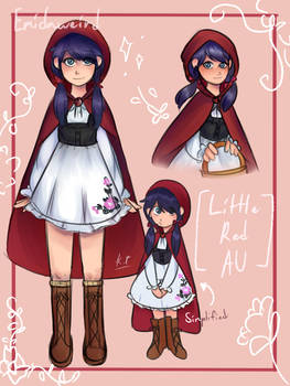 Marinette Character Sheet (Little Red AU)