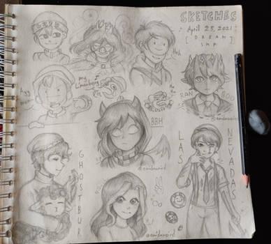 Dream SMP sketches
