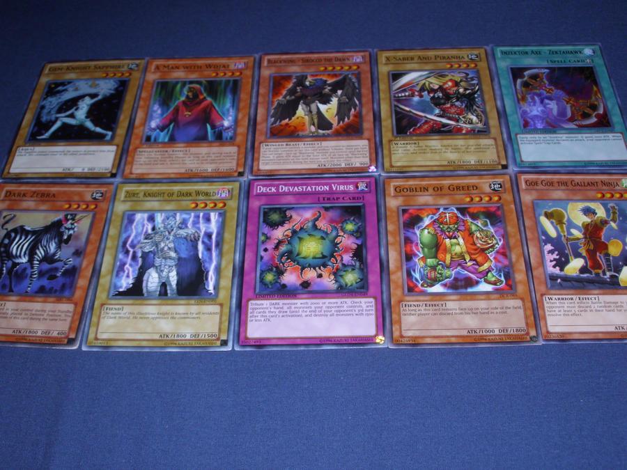 Random Yu-Gi-Oh Cards 4 by DJTigertron on DeviantArt