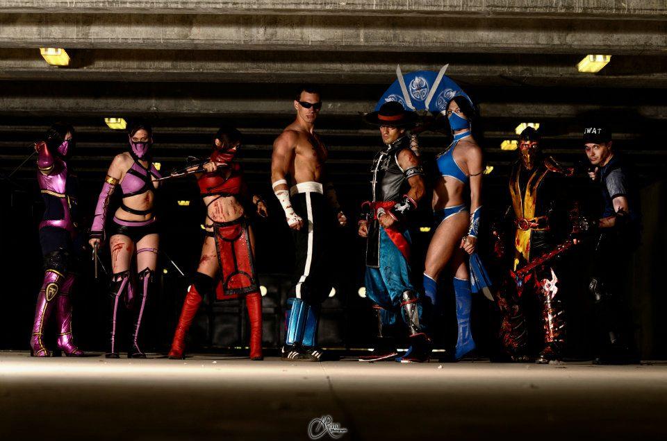 Mortal Kombat friend's group by Kal-Art