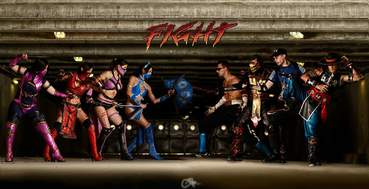 Let's the Kombat begin ! by Kal-Art