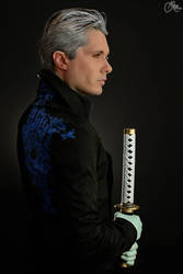 Vergil with Yamato by Kal-Art