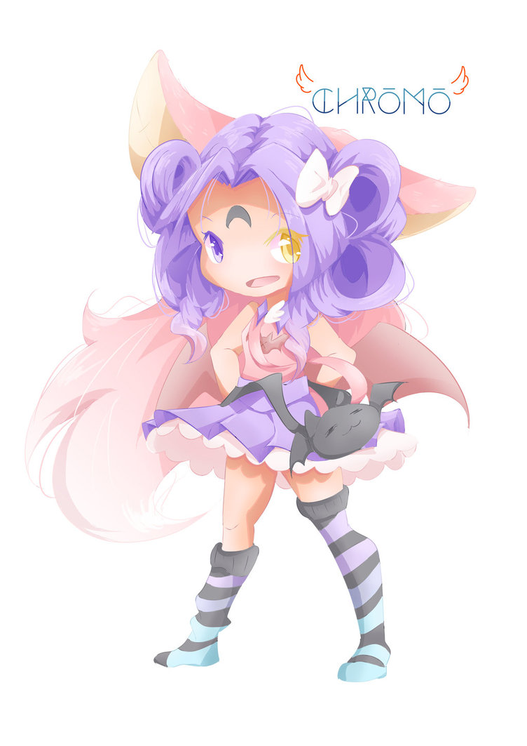 Chibi For Competition    Chromoz By Chromaticzone- by HelloBattsu