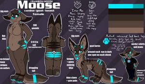 Moose Reference Sheet
