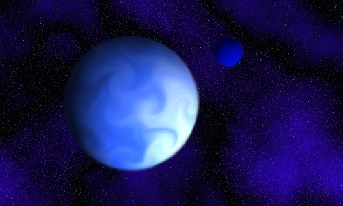 blue giant planet - photo #11