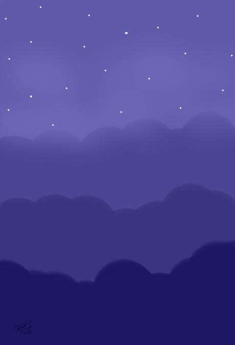 The Night -Fondo- by Harmonynotes3