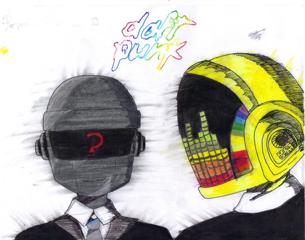 Proyect Daft Punk by Harmonynotes3