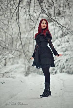 Snow gothic doll by SandraVogel