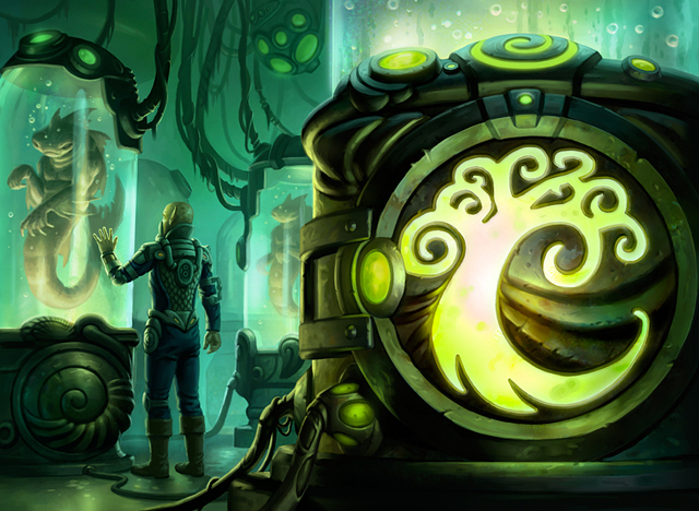 Simic Signet By Mike Sass On Deviantart