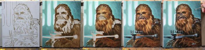 Chewbacca study process