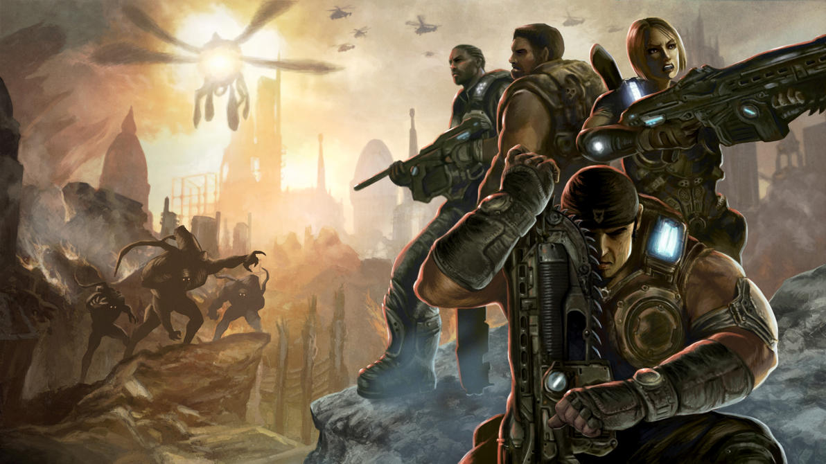 gears of war 3 wallpaperdeanhsieh on deviantart