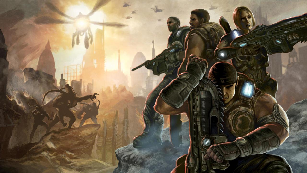 Gears Of Wars 3 Wallpaper: Gears Of War 3 Wallpaper By Deanhsieh On DeviantArt