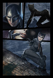 Batman and Catwoman page 2 by deanhsieh