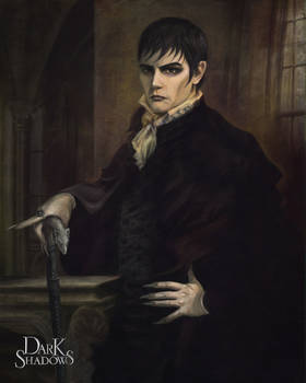 Dark Shadows Barnabas Portrait