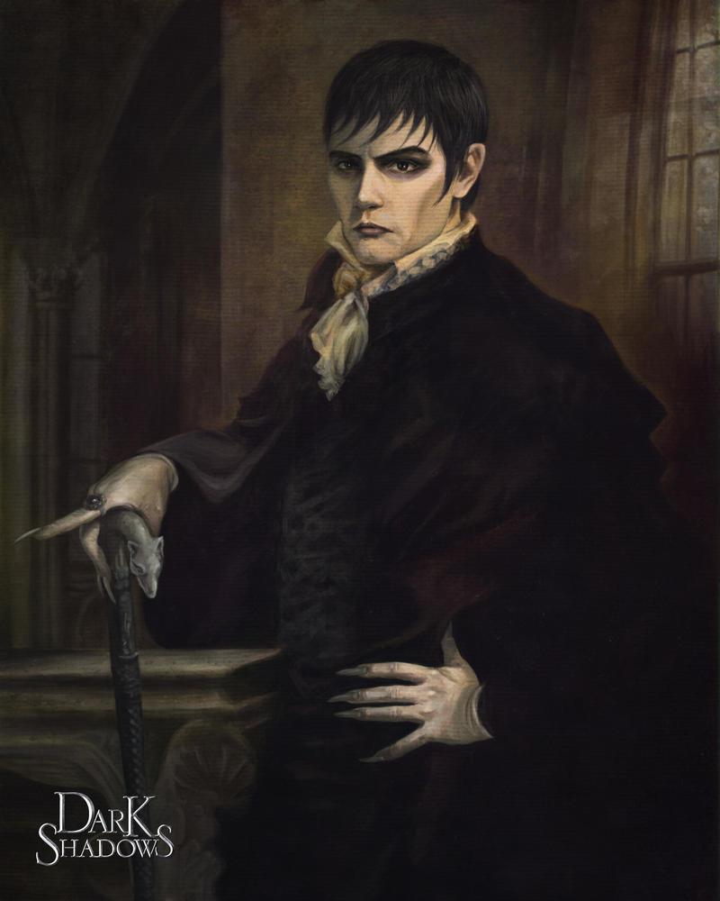 Dark Shadows Barnabas Portrait by deanhsieh