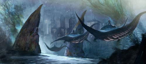 Underwater City Concept