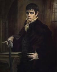 Dark Shadows Barnabas Portrait