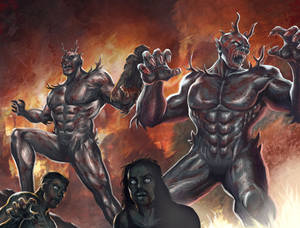 Mutant Monsters Concept Art