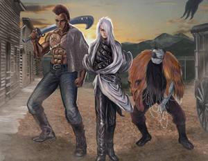 Original Characters Concept Art