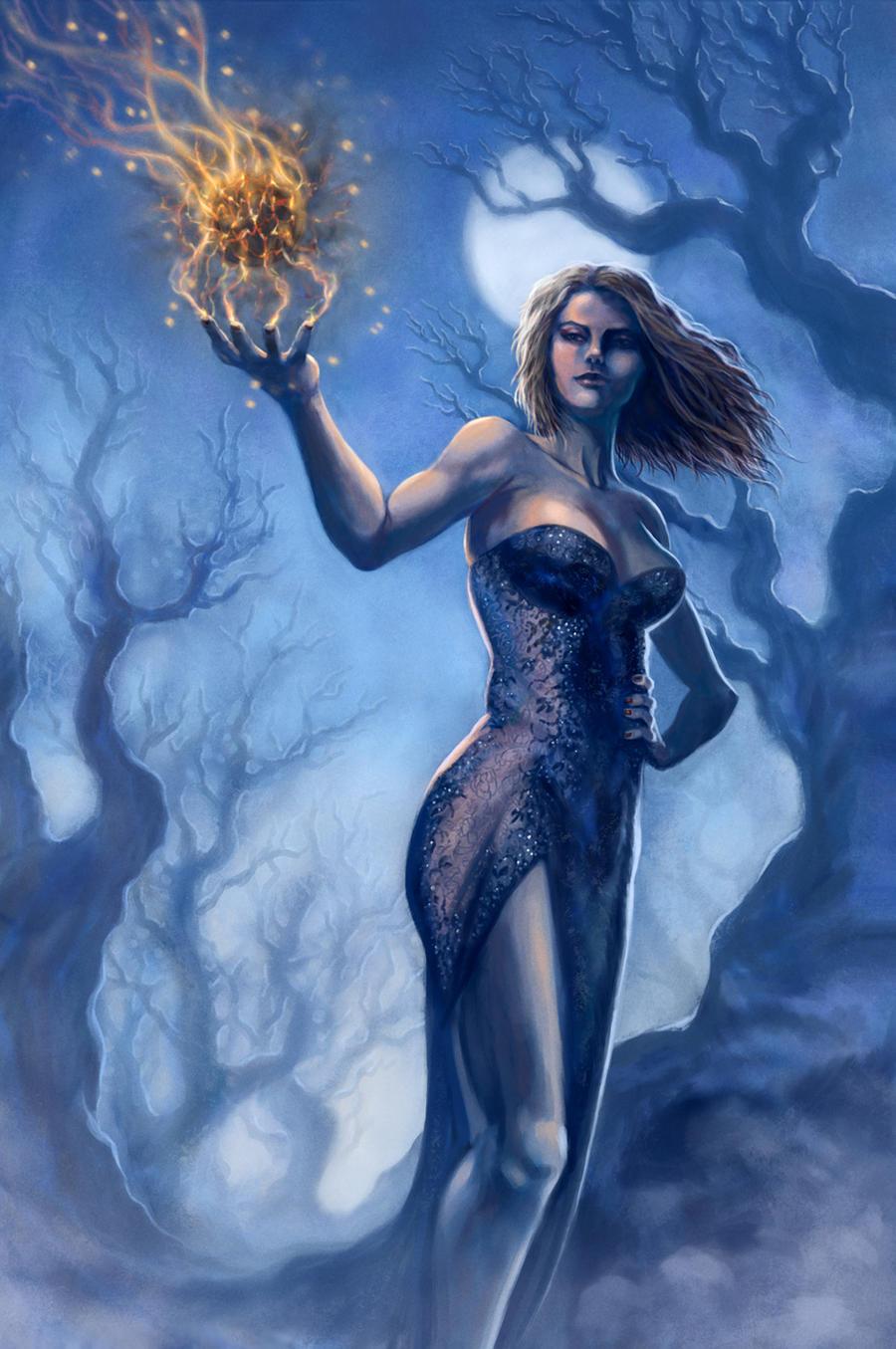 Dark Caster Lena by deanhsieh