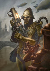 Outcast Odyssey Steampunk Warrior