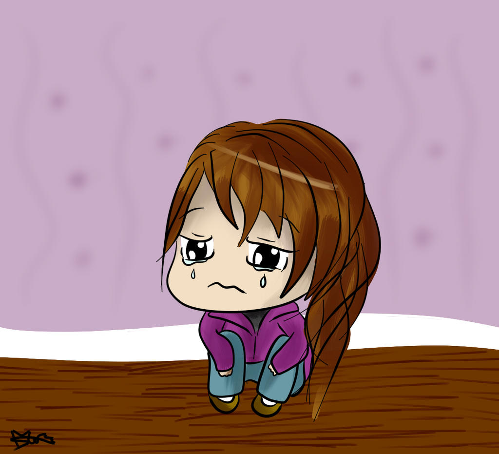 Crying Chibi Girl Thing by PoshBread on DeviantArt