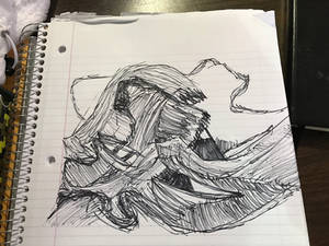 Great wave of kanasawa (drawing challenge)