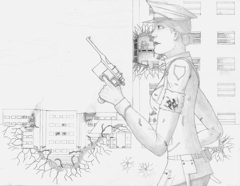 Valkyrie Nazi Farica Lehrer by Legendary41