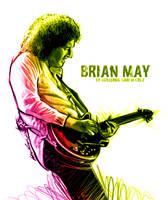 Brian May by GarciaCruz