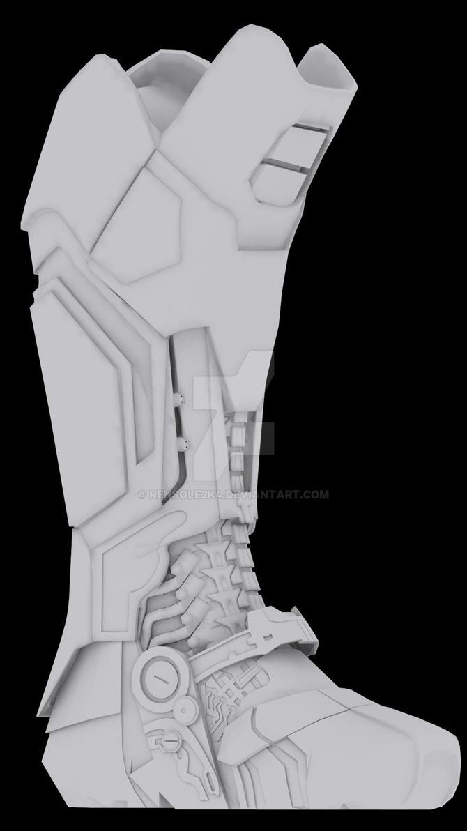 Iron man MKXLII by rensole2k4