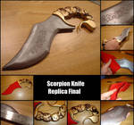 Scorpion Knife Replica Final