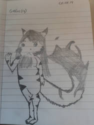 Grim kitty by DarksilenceTheWolf