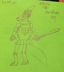 Wolfy Darksilence, the Knight