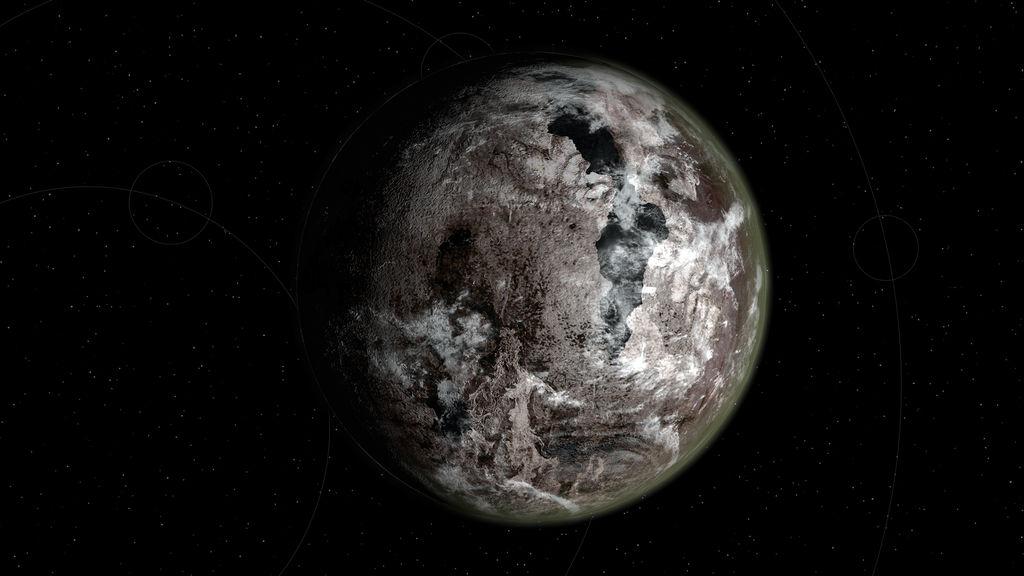 Barren Planet By Vishchun On Deviantart