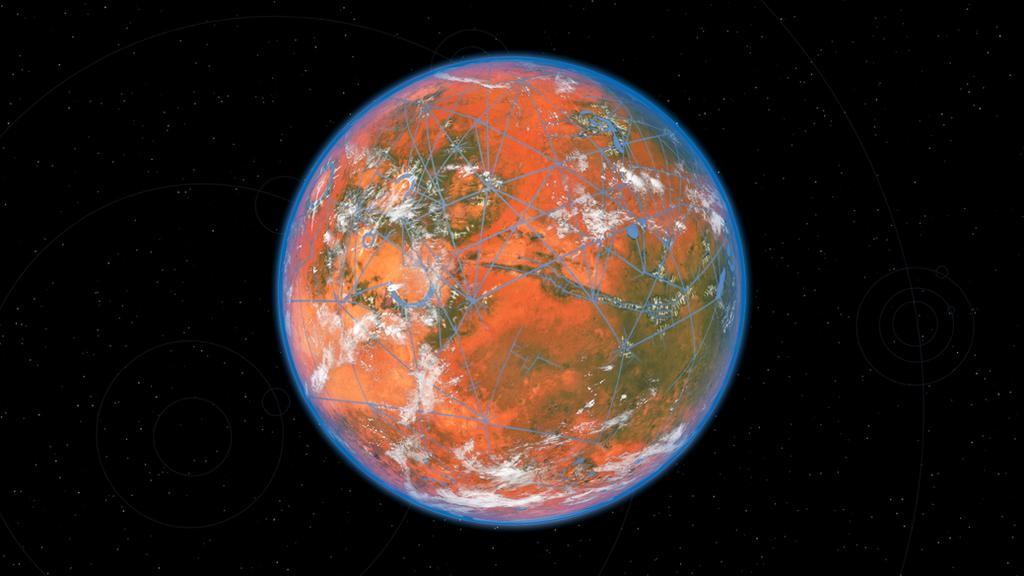 Utopic Mars by Vishchun