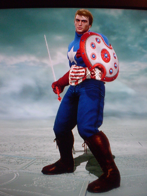 Soul Calibur V / Avengers - Captain America by DrSlavic