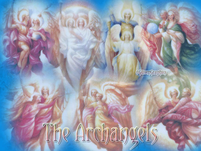 NEW! THE SEVEN ARCHANGELS OF HEAVEN!