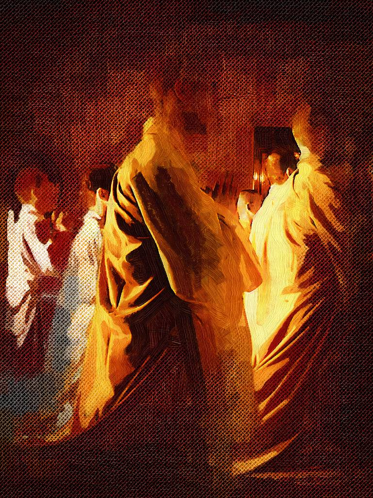 Monks Praying By ManfromEarth On DeviantArt