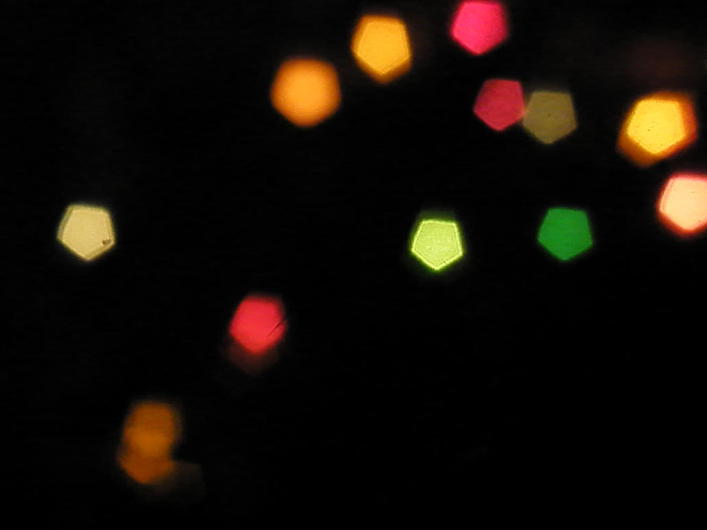 Christmas Bokeh V by zumun