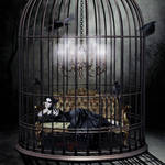 HER GOLDEN CAGE...