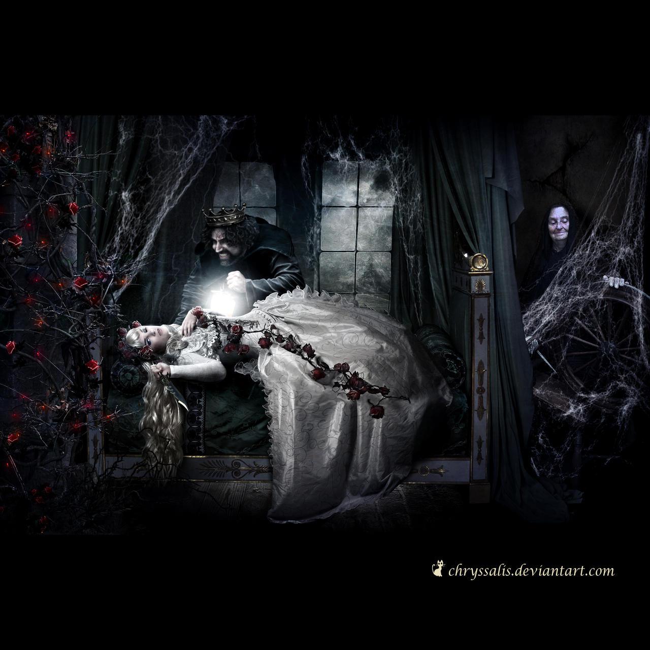 SLEEPING ? BEAUTY... by chryssalis