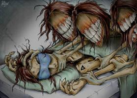 Sleep paralysis by Loony-Madness
