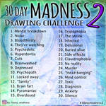 30 Day Madness Drawing Challenge 2