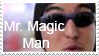 Mr. Magic Man Stamp by fothermuck